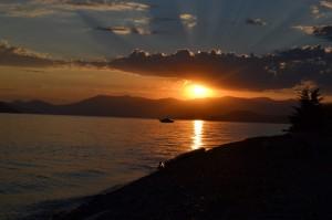 Sunset-Lake Pend Oreille